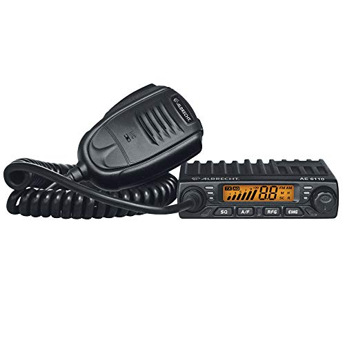 Albrecht 12611 - Mini CB Radio, Negro