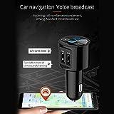 Zoom IMG-1 trasmettitore fm bluetooth auto kit