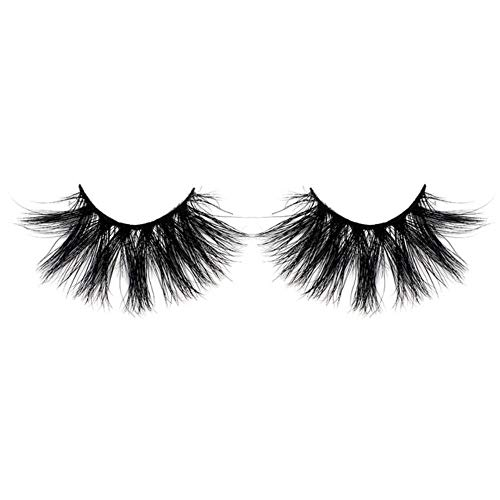 MBV Long Wispies Fluffy Handmade Cils 25MM Lashes Hair Faux Cils Full Strips Lashes Extension, 1pairSK27