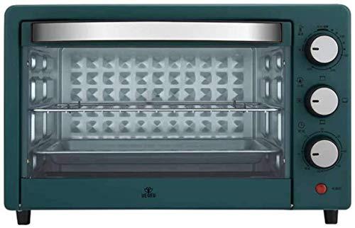 25L Mini horno y parrilla eléctrica Cocina multifunción Control de temperatura ajustable...