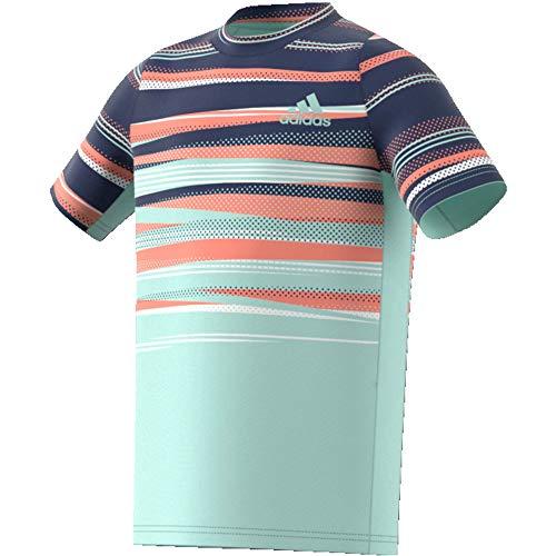 adidas Kinder Freelift Aeroready T-Shirt, Tecind/Dshgrn/Chacor, 152