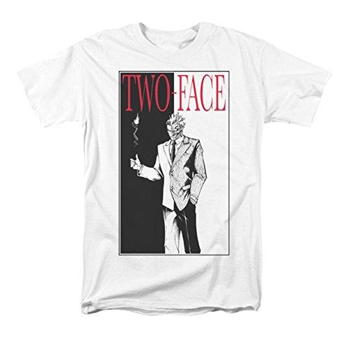 Batman Two Face T Shirt White