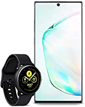 Samsung Galaxy Note 10+ Plus Factory Unlocked Cell Phone with 256GB (U.S. Warranty), Aura Glow (Silver) Note10+ with Galax...