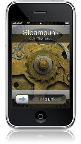 GelaSkins Steampunk Schutzfolie für iPhone 3G / 3GS (mit digitaler Tapete)
