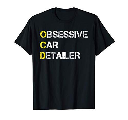 Car Detailing Car Wash Car Detailer Polisher Gift T-Shirt