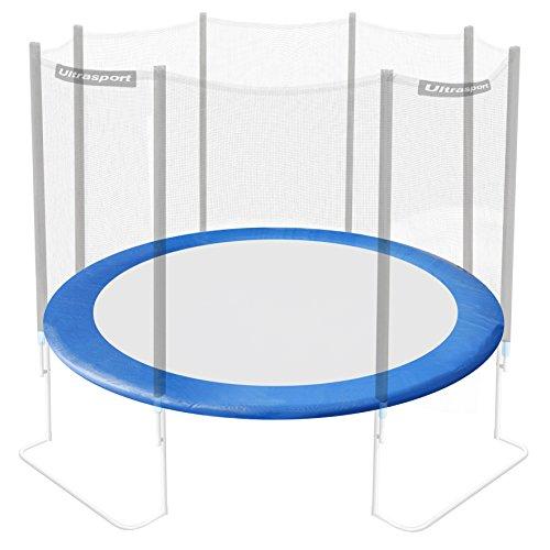 Ultrasport Cama jardín Jumper Cubierta trampolín, Protector de muelles, Borde de Espuma para Camas elásticas, Unisex, Azul, 430 cm