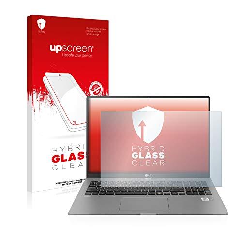 upscreen Hybrid Glass Panzerglas Schutzfolie kompatibel mit LG Gram 17'' 9H Panzerglas-Folie