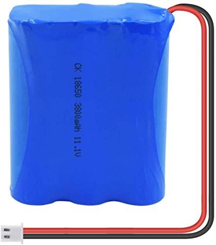 18650 Li Ion Batería Recargable 11.1v 3800mah Cell Group Reemplazo de la batería de Litio con Enchufe Xh-PC 1