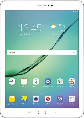Samsung Galaxy Tab S2 T813 24,6 cm (9,7 Zoll) Wi-Fi Tablet-PC (2 Quad-Core Prozessoren, 1,8 GHz + 1,4GHz, 3GB RAM, 32GB eMMC, Android 6.0) weiß
