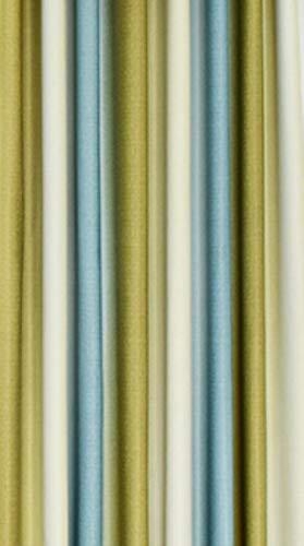 Eenvoudige Europese gordijnen voor woonkamer Streep verduisteringsgordijnen voor slaapkamer Chiffon Teryleen voor eetkamer Gordijngaren, blauwgroen gordijn, B150cmxH250cm