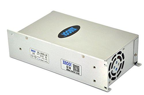 XINCOL 12V 42A 500W Transformador de Potencia, Transformador de Voltaje, Fuente de Alimentación para la Tira de LED
