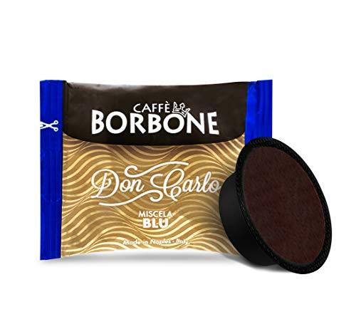 Don Carlo Caffè Borbone Kaffeekapseln, kompatibel mit A Modo Mio, Blau, St. 50, 100, 200, 300, 400, 500 100
