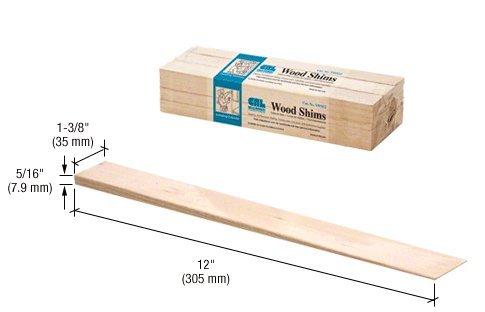 CRL Beddar Wood Shims - Bundle of 42