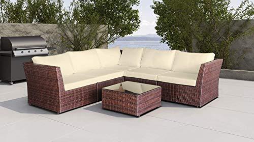 Baidani Designer Sitzgruppe Atmosphere, 1 Ecksofa, 1 Tisch mit Glasplatte, 2 Bezugsgarnituren, schwarz Bild 5*
