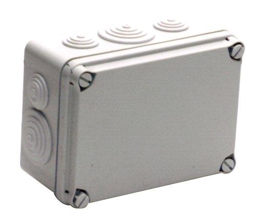 UNITEC 40209L Aufputz-Abzweigkasten IP65, 162 x 116 x 76 mm