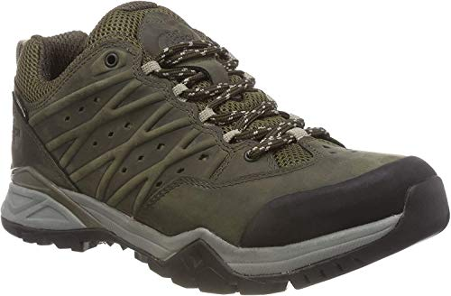 The North Face Hedgehog Hike II GTX, Zapatillas de Senderismo para Hombre, Verde (Tarmacgreen/Burntolivegrn 4Dd), 39 EU