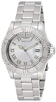 Invicta Men s Pro Diver 40mm Stainless Steel Quartz Watch Silver  Model  12819