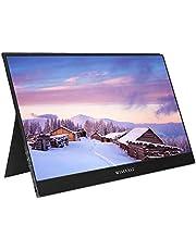 Wimaxit 13,3 cala 1920 x 1080p IPS HDR, przenośny monitor USB-C, HDMI, Ultra Slim wbudowany głośnik, podwójny HDMI, monitor do gier typu C, podróżny monitor do laptopów i telefonów komórkowych