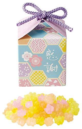 祝い桜のプチギフト(1個) 金平糖約20g入り1箱【結婚式 ウェディング 和装 和婚 バレンタイン ホワイトデー】