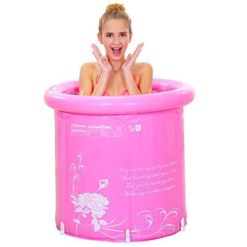 YDYG Opblaasbare badkuip voor volwassenen, draagbaar, voor het welzijn, comfortabel, dik, warm, badkuip, nieuw model en hoogste kwaliteit