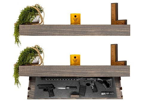 Tactical Traps Defender 45R Gun Shelf with Trap Door  ...