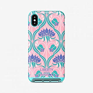 Tech21 Evo Luxe Liberty Azelia Coral Phone Case for Apple iPhone Xs Max