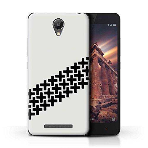 Stuff4 Phone Case/Cover/Skin/XIA-CC/Street Car Racing Collection Xiaomi Redmi Note 2 (Prime) Antislipsporen voor banden