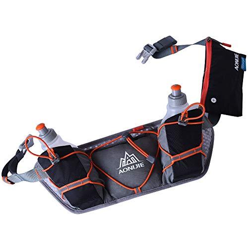 Botella de la cintura multifunción deportes al aire libre bolsa ligera hidratación...