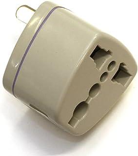 【コンセント変換アダプター】マルチ変換プラグA型(海外電化製品を日本で利用) A,BF, C, B3, O,B