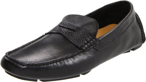 Cole Haan Men's Howland Penny Loafer, Black Tumbled, 11 M US
