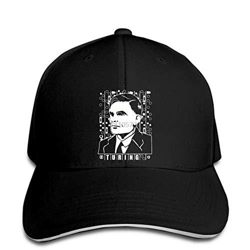 Gorra de béisbol Gorra de béisbol Enigma Machine Code Cookie Freak Encoder Sombrero con Estampado de Hombre