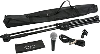 Galaxy Audio RT-66XD Complete Handheld Microphone & Stand Kit