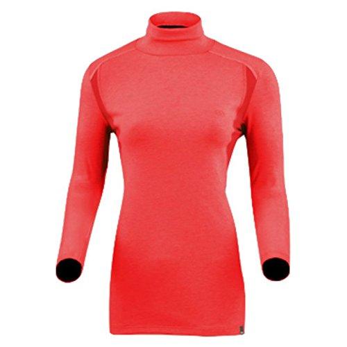 Damart Sport Sous-pull chaud randonnée Thermolactyl Femme, Rouge, Large