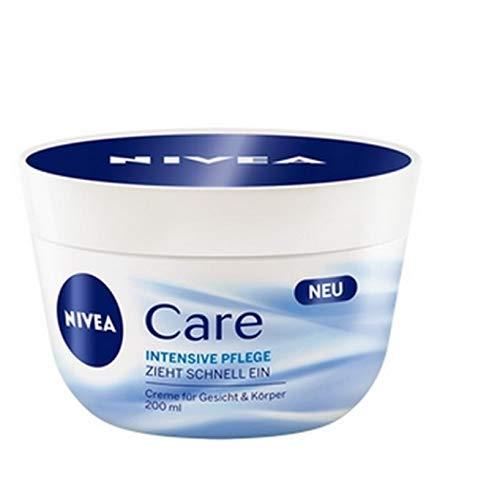 3 x Nivea Face & Body Cream - Intensive Care - für alle Hauttypen - 200 ml