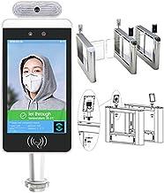 GODLV Termómetro de alarma térmica sin contacto, sistema de control de acceso de medición de temperatura del cuerpo humano