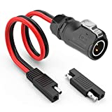 Extractme 10AWG 2 Pin Power Industrial Circular Connector to SAE Adpater Cable for Furrion...