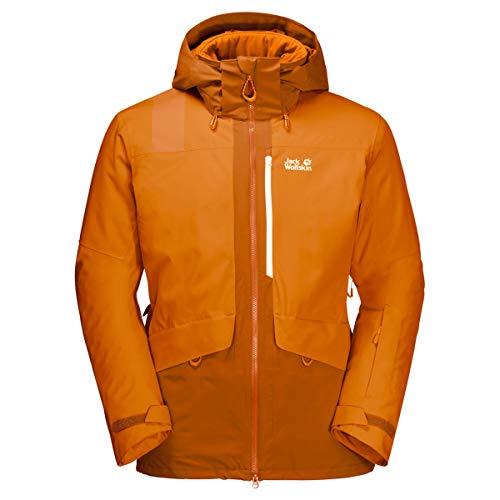 Jack Wolfskin Big White Veste Homme, Rusty Orange, FR : 2XL (Taille Fabricant : XXL)
