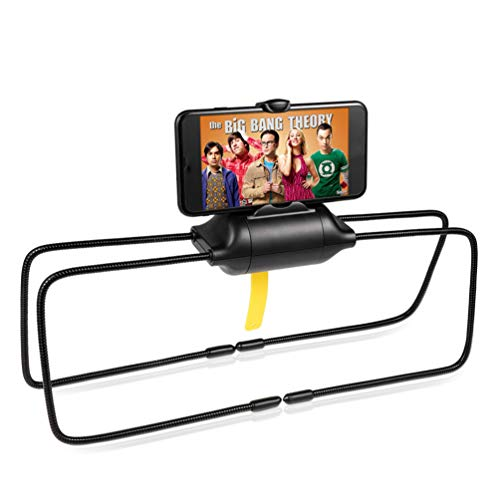 Holibanna 1 Pieza Soporte para Tablet Cama Multifunción de Escritorio Soporte para Tablet Cama con Patas Flexibles Soportes para Teléfono Araña Extensibles para Sofá Escritorio Aleación de