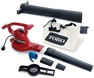 Toro 51619 Ultra Electric Blower Vac, 250 mph, Red (Renewed)