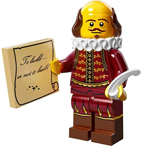 The Lego Movie William Shakespeare Minifigure Series 71004 by LEGO Movie