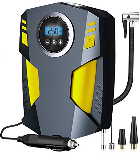 Aibeau Digital Tyre Inflator, Portable Air Compressor Tire Inflator 12V...