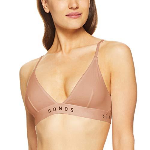 Bonds Women's Originals Triangle Crop, Blush Latte, 10