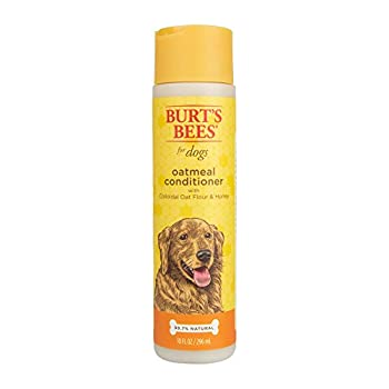 Burt s Bees for Dogs Natural Oatmeal Conditioner with Colloidal Oat Flour & Honey | Dog Oatmeal Shampoo | Cruelty Free Sulfate & Paraben Free pH Balanced for Dogs - Made in the USA | 10 Oz