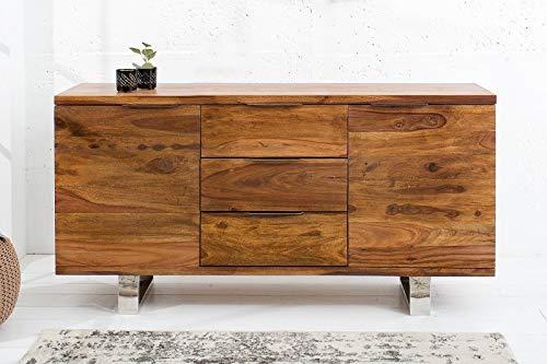 Licht-Erlebnisse Sideboard 160cm Massiv Holz 160cm Teak
