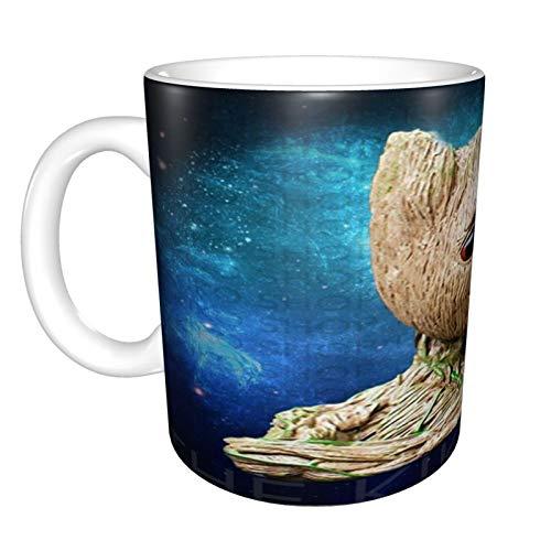 Baby Groot Lustige Tasse, 325 ml, Keramik, lustig, sarkastisch, motivierend, inspirierendes Geburtstagsgeschenk für Freunde, Kollegen, Geschwister, Vater oder Mutter