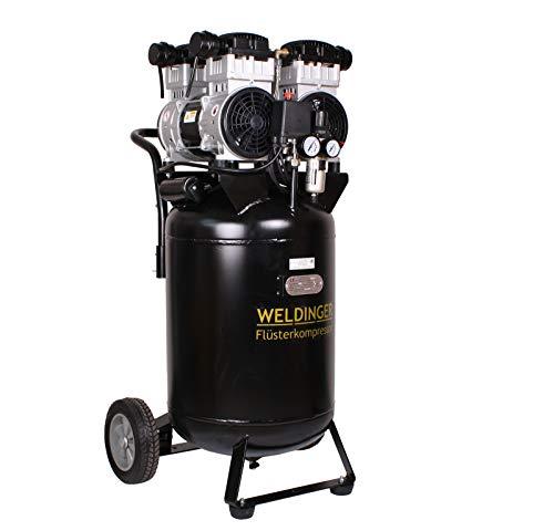 WELDINGER Flüsterkompressor FK 320 pro up 2200 W 320l/min ölfrei 5 Jahre Garantie