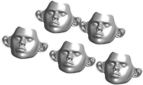 Ambu Gesichtsmasken zu Ambu-Man und Defi-Trainer 5 Stück