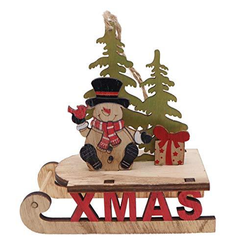 Holibanna Centrotavola Decorazioni Natalizie per Cena Pupazzo di Neve Pupazzo di Neve Buon Natale