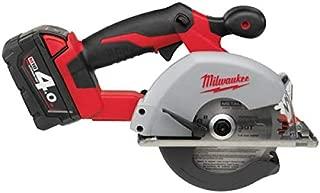 Milwaukee HD18MS-402C Metal Cutting Saw - 2 x 4.0 Ah Li-Ion battery, 1h charger