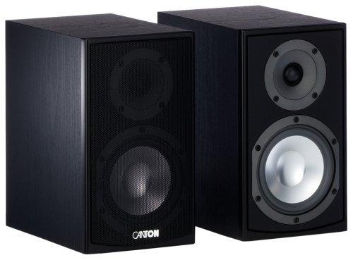 Canton GLE 420 Kompaktlautsprecher (70/130 Watt) schwarz (Paar)